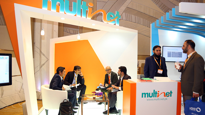Capacity Middle East 2020 Exhibition Stand