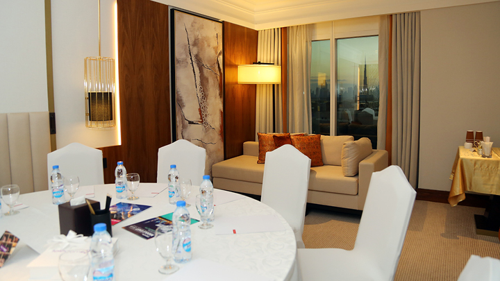 Capacity Middle East Meeting Room