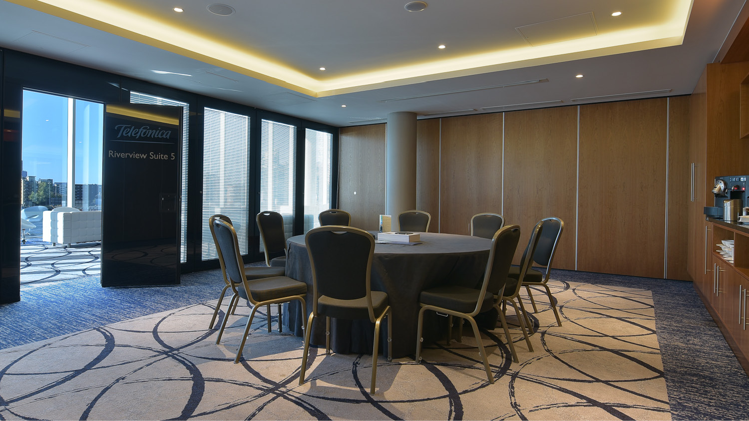 Book a meeting room at Capacity Europe