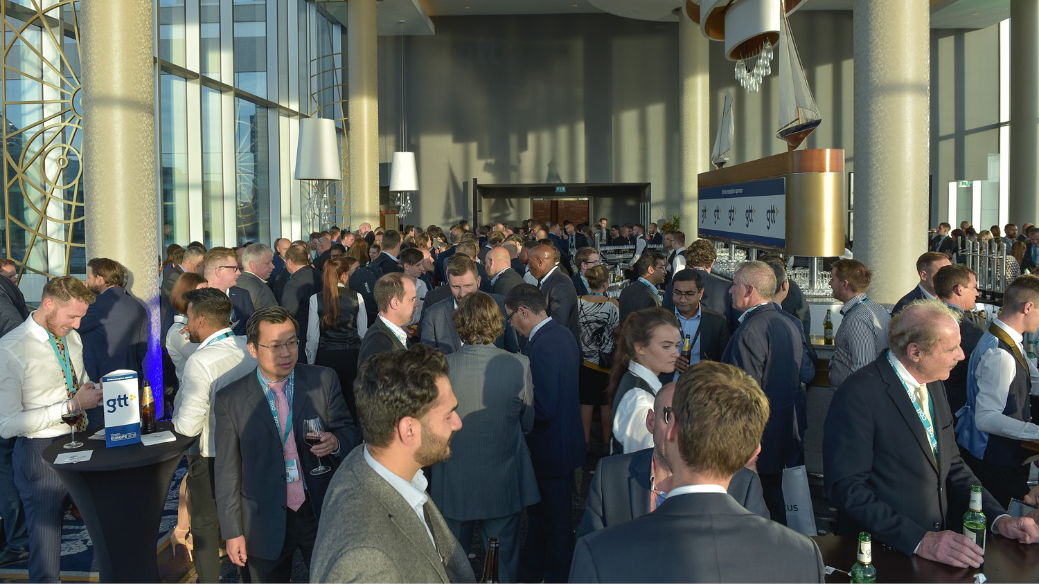 Networking at Capacity Europe