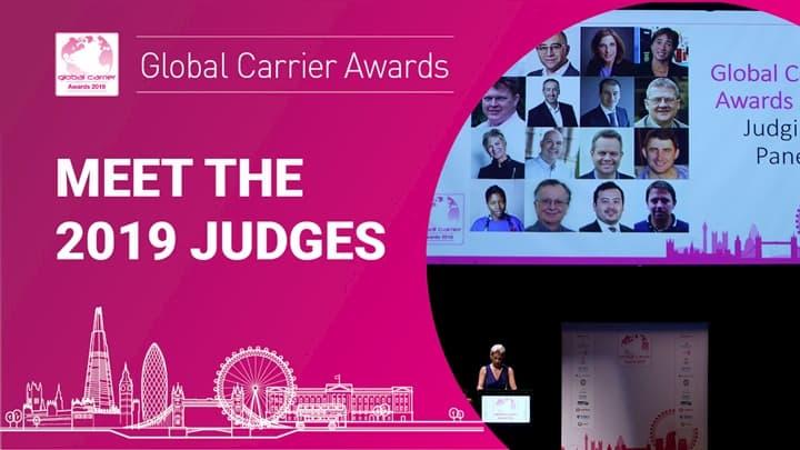 global carrier awards - judges