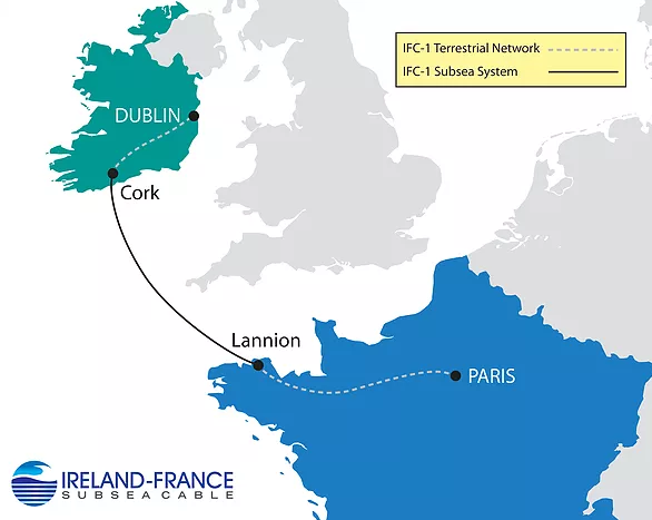 Ireland-France subsea cable