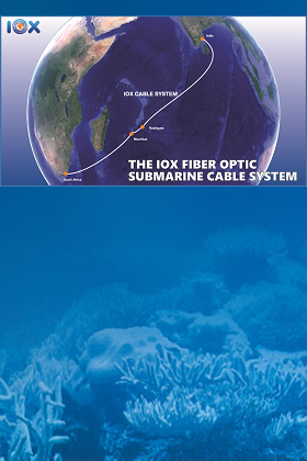 IOX Fibre Optic Subsea Cable System
