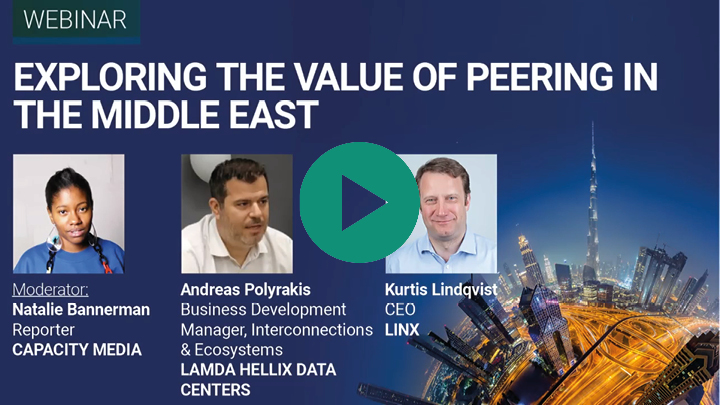 Capacity Middle East webinar