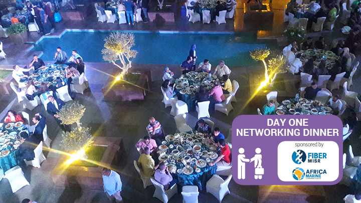 Capacity North Africa FibreMisr networking dinner