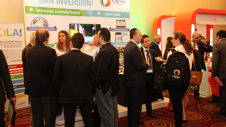 Mexico Connect exhibition booth