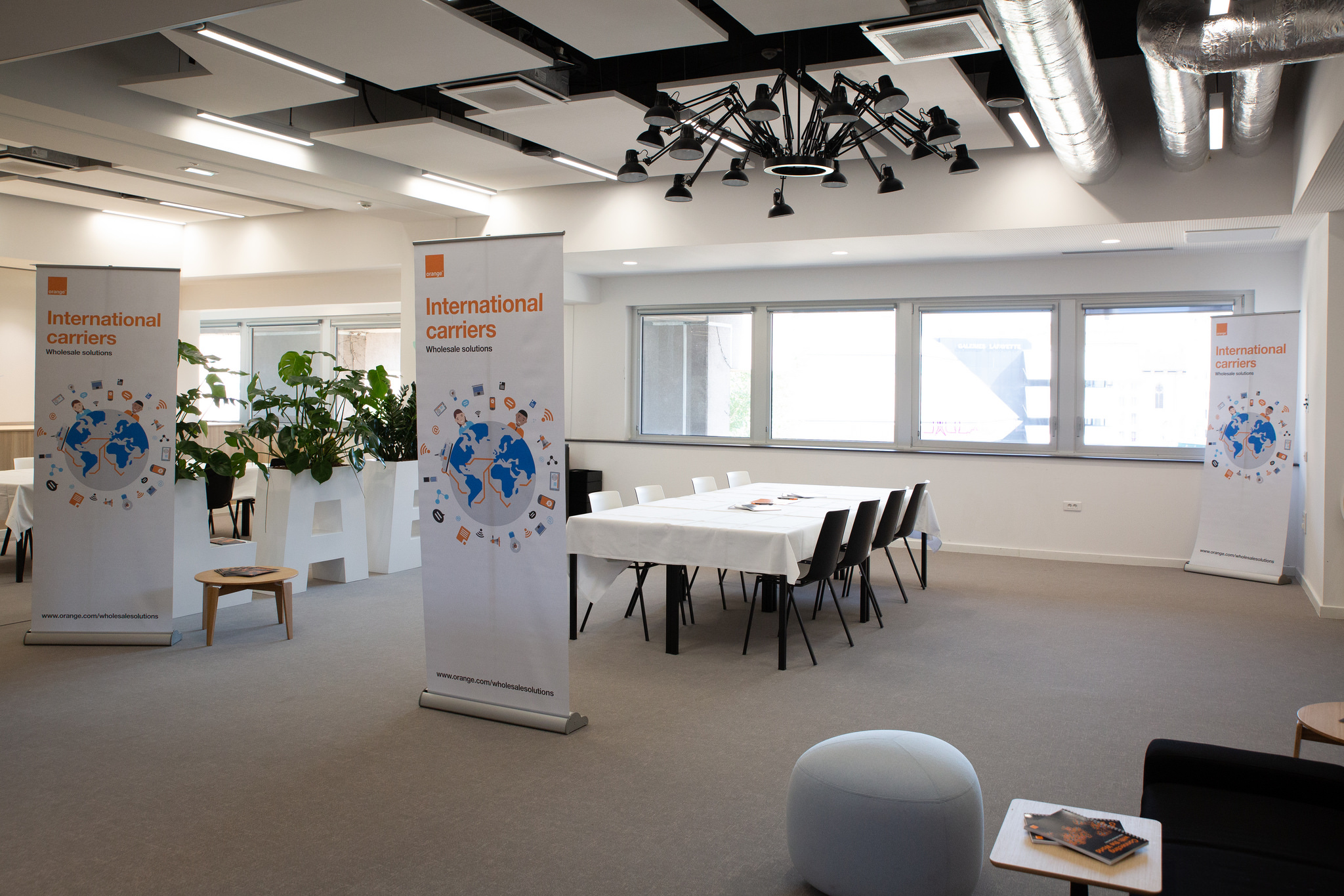 Booking a meeting room at Subsea EMEA