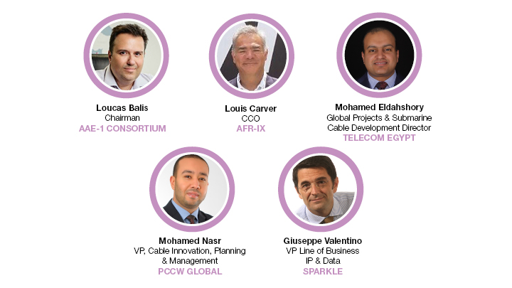 Subsea speakers at Capacity North Africa