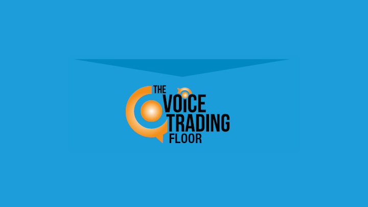 The voice trading floor